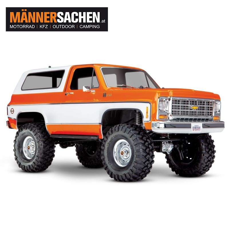 TRAXXAS TRX-4 Chevy Blazer 4x4 orange 1/10 Crawler LAGERND !