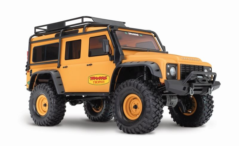 TRAXXAS TRX-4 Land Rover Crawler beige 1/10 Crawler Trophy Edit
