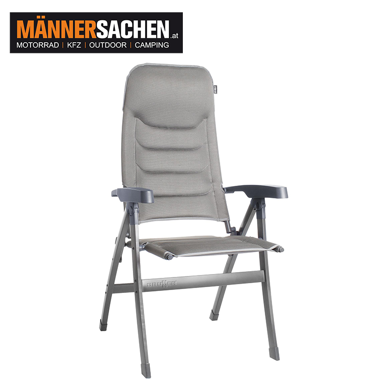 Brunner Campingstuhl Dream 3D Bowleg hellgrau
