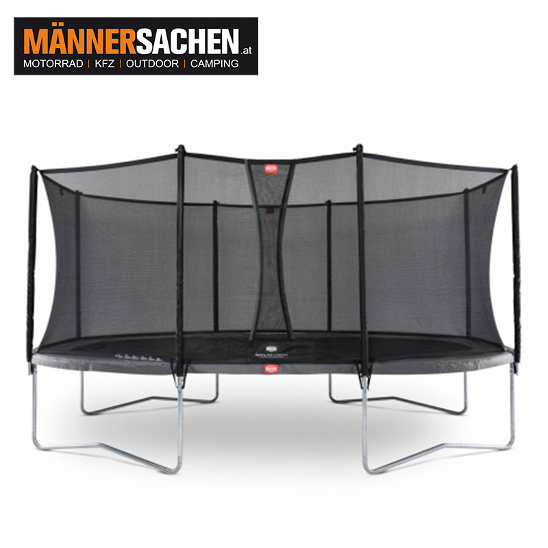 BERG Grand Favorit Regular 520 Black + Sicherheitsnetz Comfort