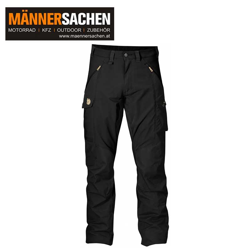 "FJÄLLRÄVEN Hose ""Abisko Trousers Regular"" black"