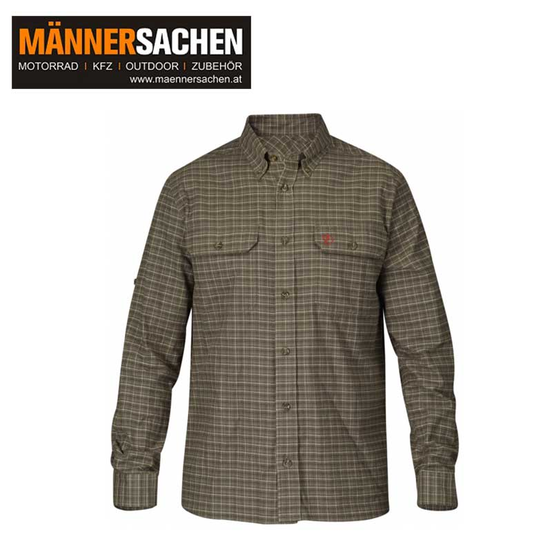 "FJÄLLRÄVEN Shirt ""Forest Flannel Shirt"" dark olive"
