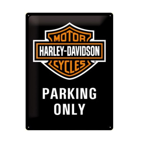 HARLEY DAVIDSON Parking Only Blechschild NEU NEU NEU