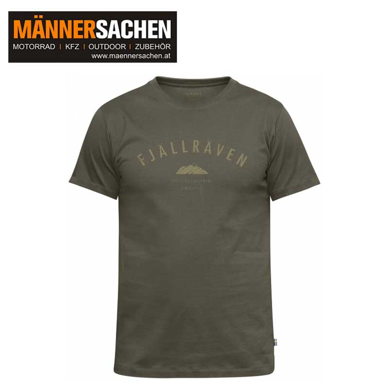 "FJÄLLRÄVEN T-Shirt ""Trekking Equipment T-shirt"" tarmac"
