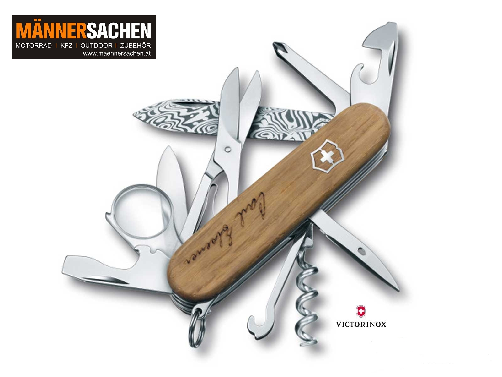 Victorinox DAMAST CARL ELSENER LIMITED EDITION 2013 LAGERND