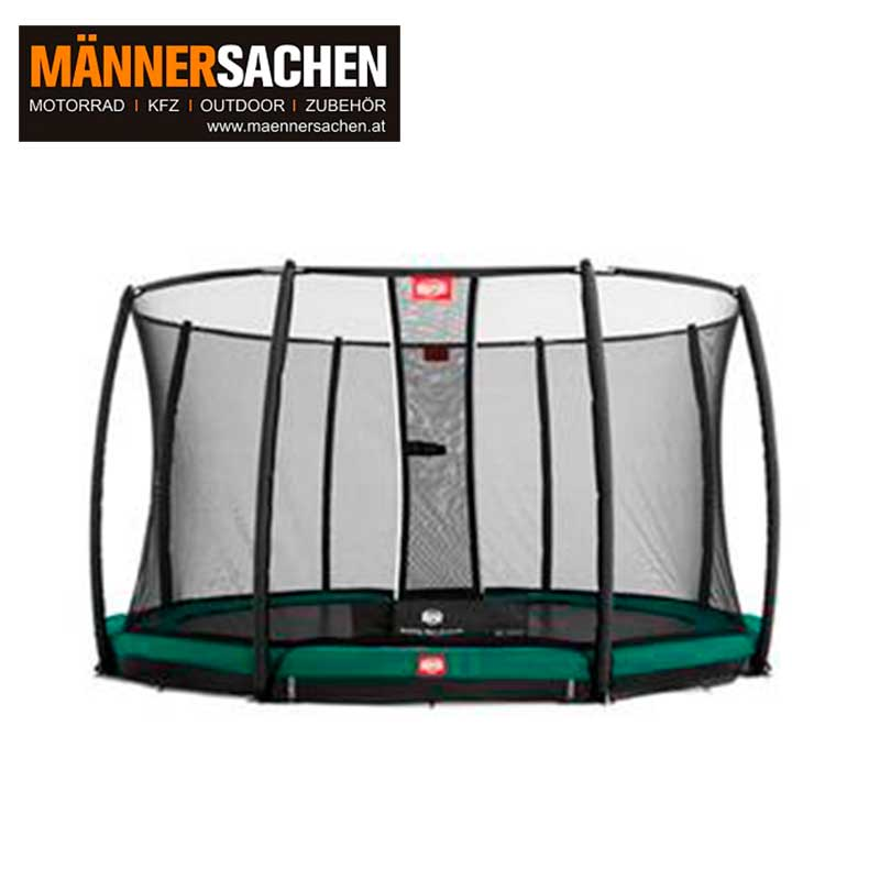BERG INGROUND CHAMPION 430 + SICHERHEITSNETZ DELUXE