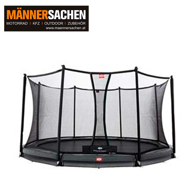 BERG INGROUND CHAMPION GREY 330 + SICHERHEITSNETZ COMFORT