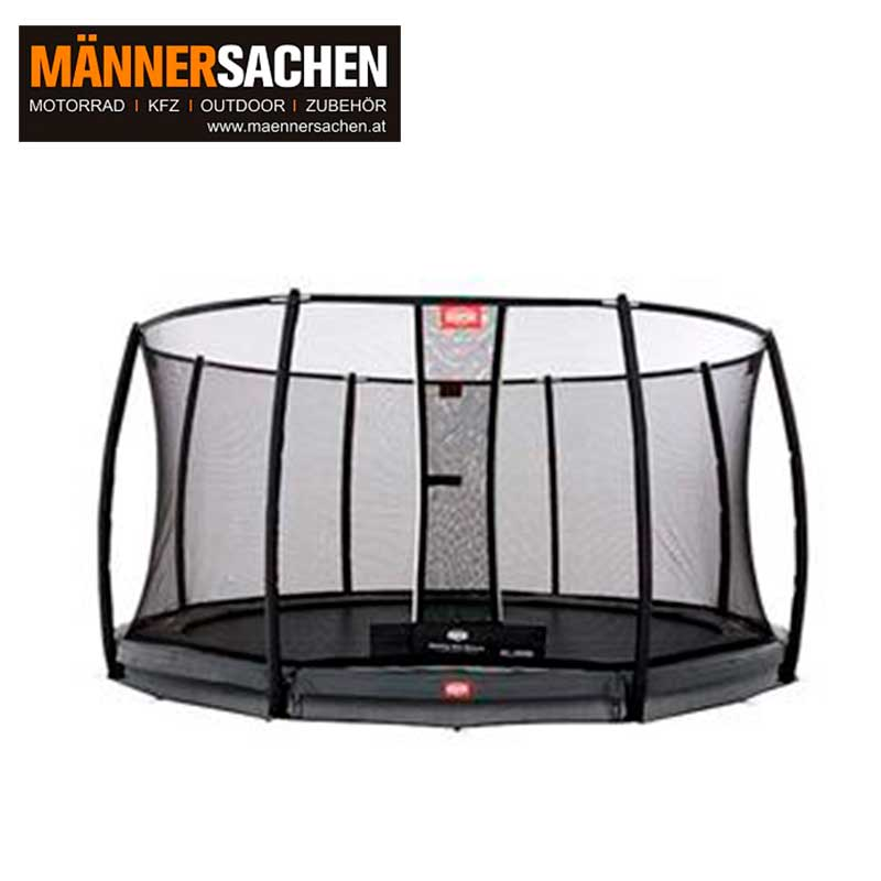 BERG INGROUND CHAMPION GREY 330 + SICHERHEITSNETZ DELUXE