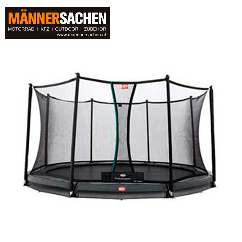 BERG INGROUND CHAMPION GREY 430 + SICHERHEITSNETZ COMFORT