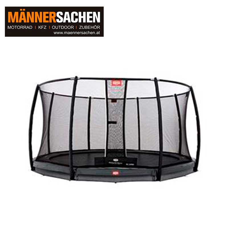 BERG INGROUND CHAMPION GREY 430 + SICHERHEITSNETZ DELUXE