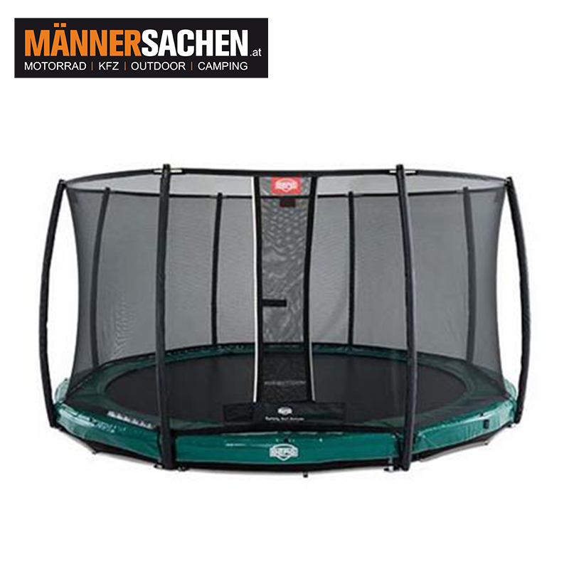 BERG InGround Elite Grün 430 + Sicherheitsnetz DLX XL