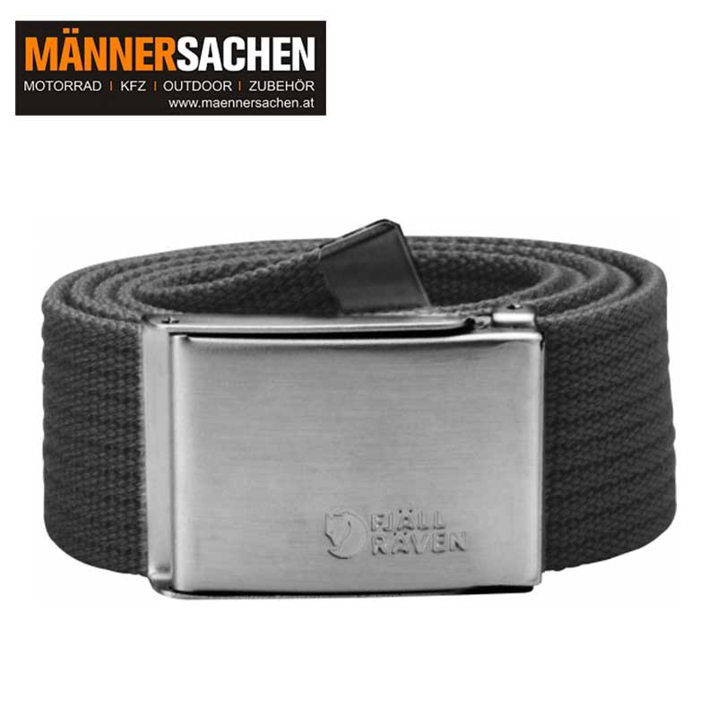"FJÄLLRÄVEN Gürtel ""Canvas Belt"" dark grey"