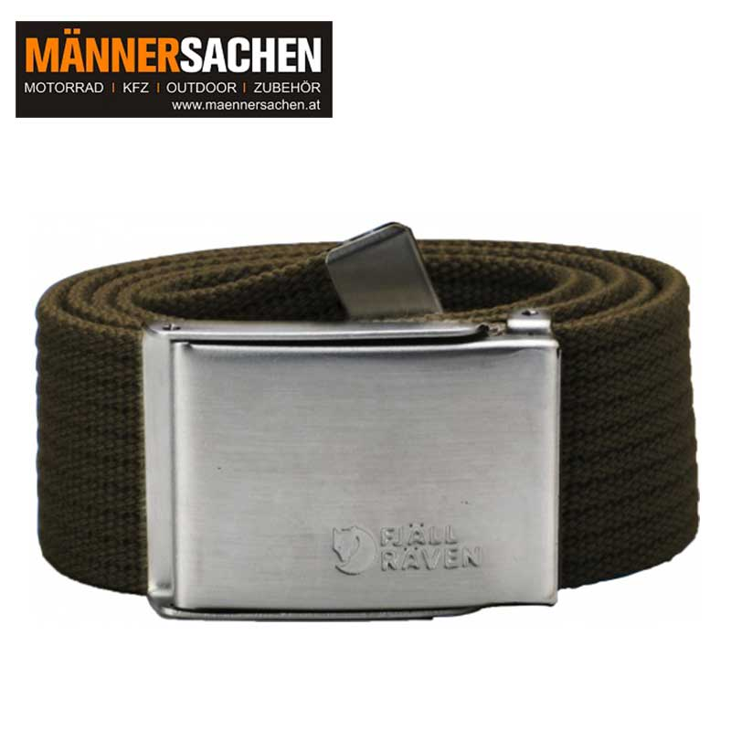 "FJÄLLRÄVEN Gürtel ""Canvas Belt"" dark olive"