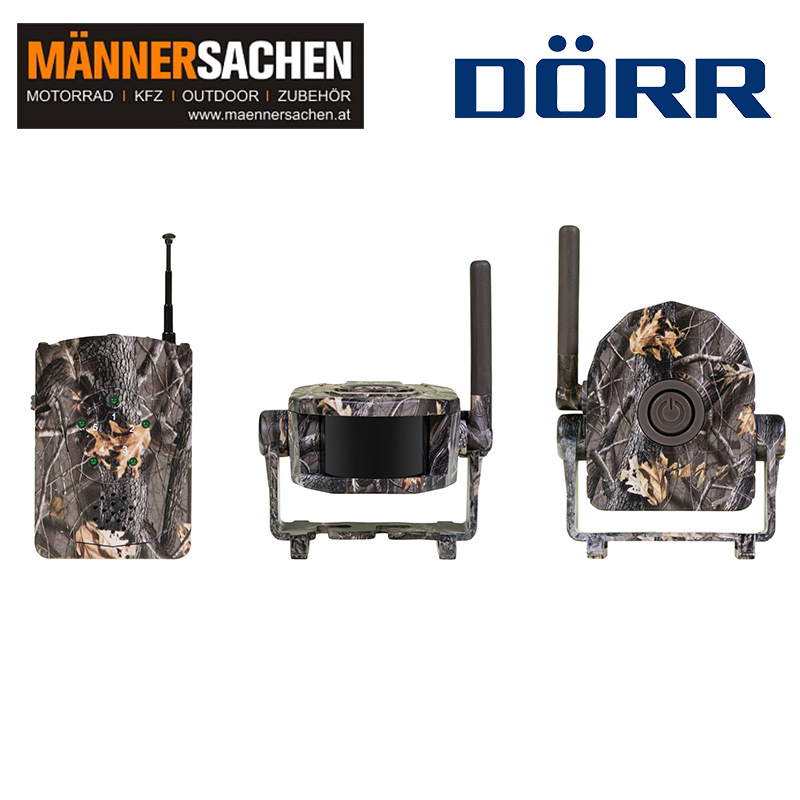 DÖRR Funk-Wildbewegungsmelder Set HA-150