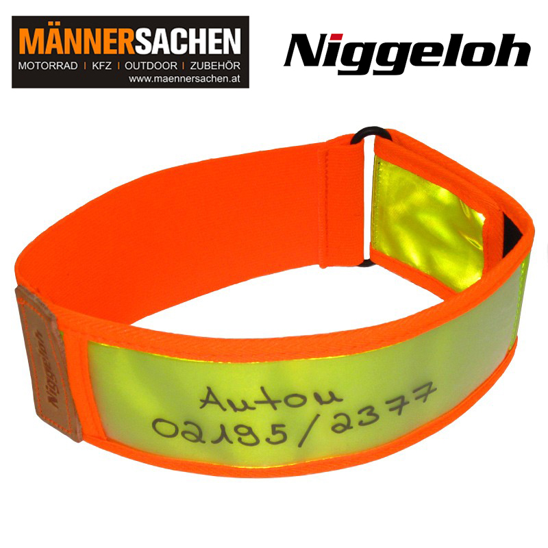 NIGGELOH Warnhalsung gelb-orange (XS)