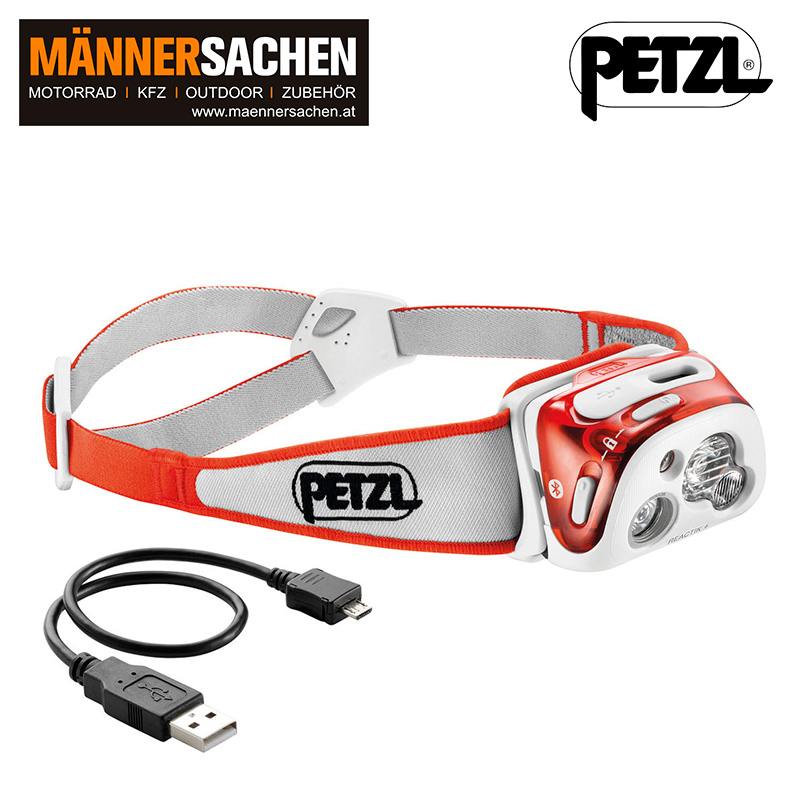 "PETZL Stirnlampe ""Reactik+"""