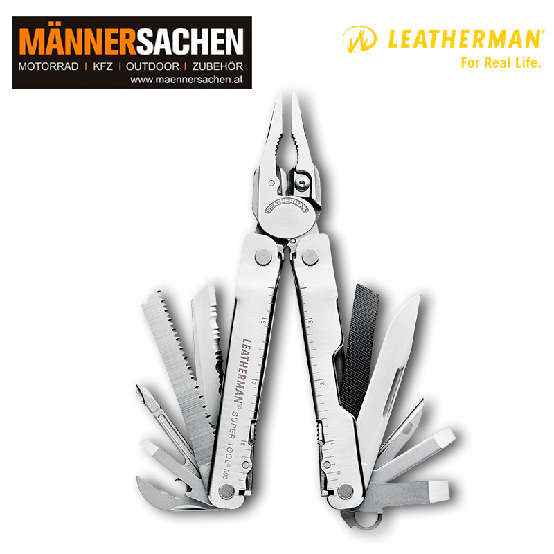 Leatherman Multi-Tool SUPER TOOL 300 schwarz. In der Box