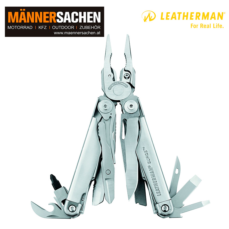 Leatherman Multi-Tool SURGE silber. In der Box