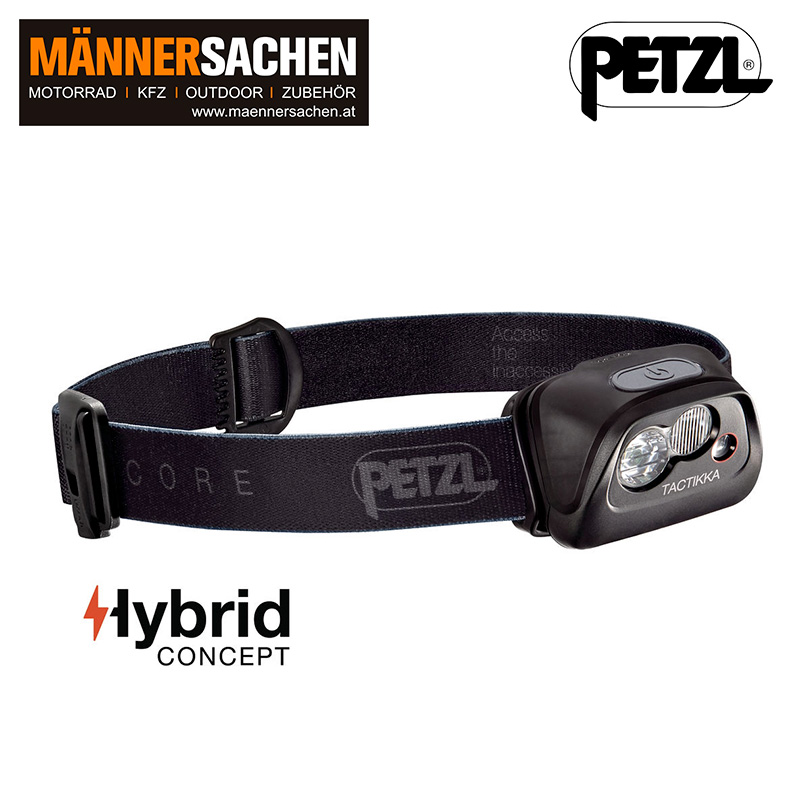 "PETZL Stirnlampe ""Tactikka Core"""